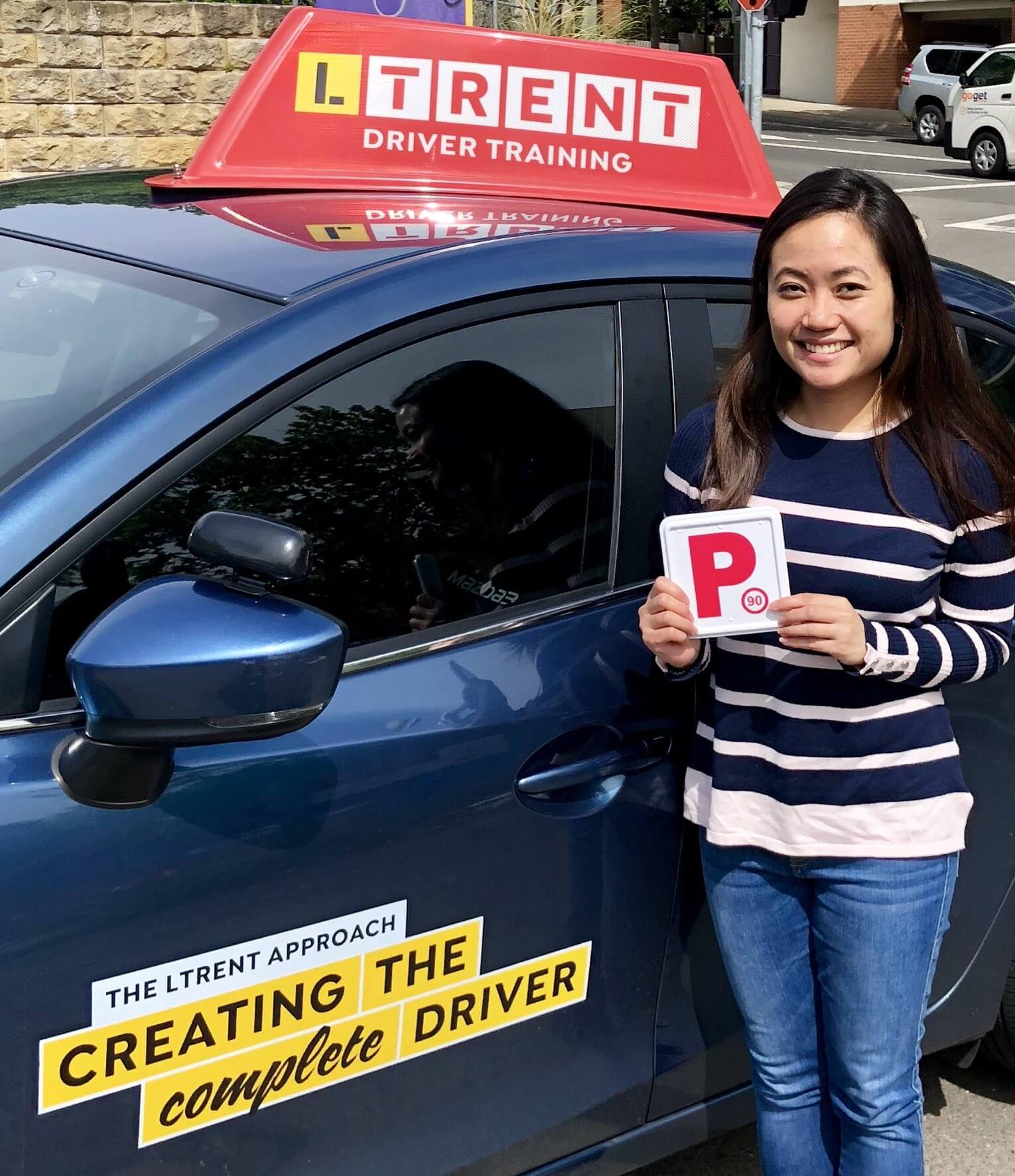 LTrent Driving School | Janine Pass P's On First Go with our Driving Lessons