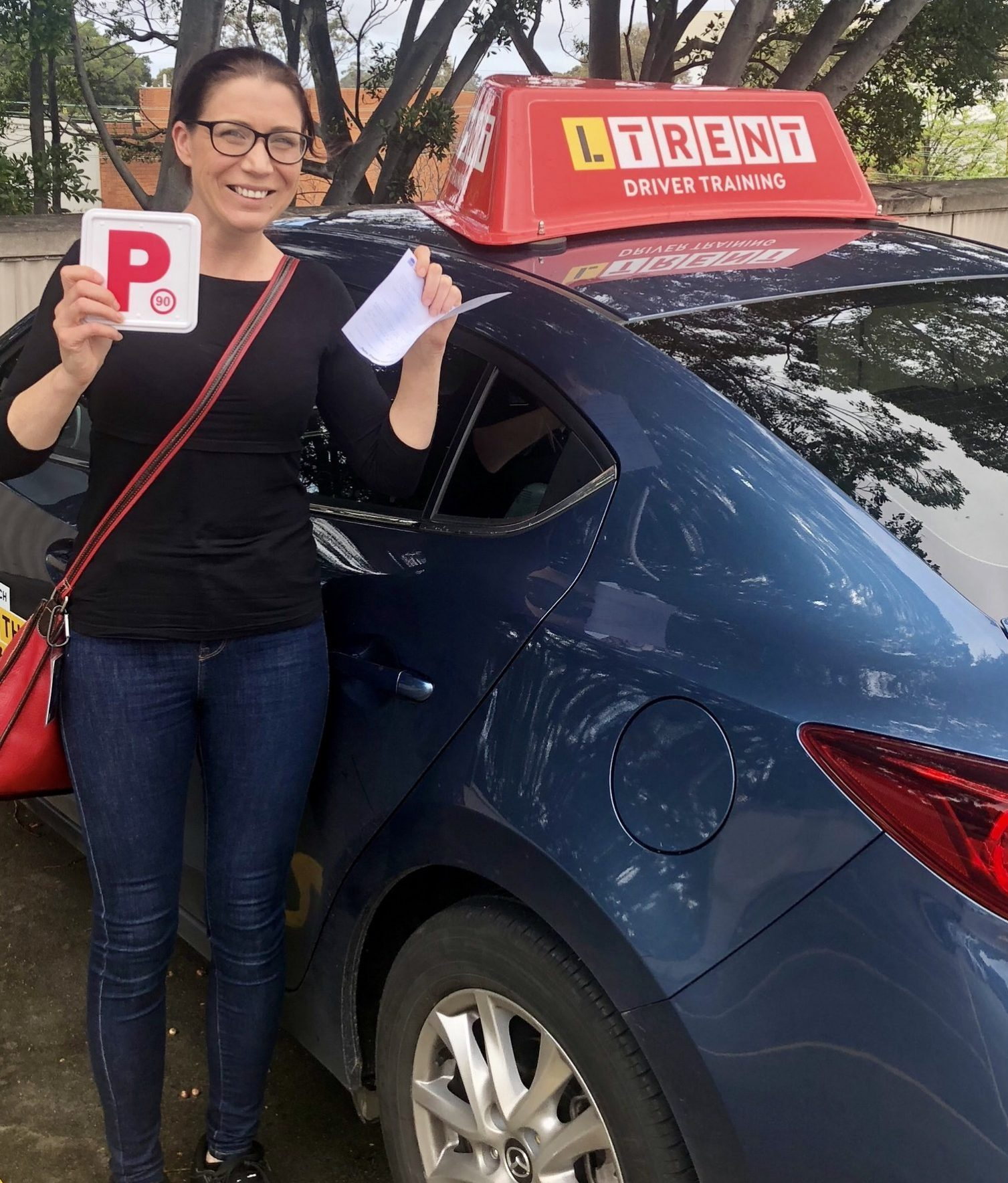 LTrent Driving School | Vanessa Pass P's On First Go with our Driving Lessons