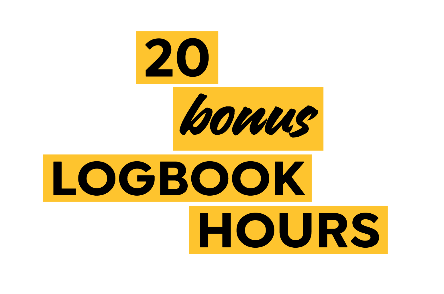 20 bonus logbook hours Safer Drivers Course