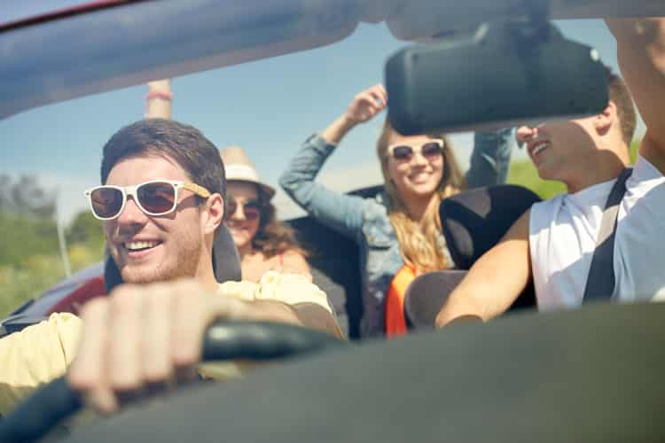 How to Drive Safely With Friends in the Car | LTrent Driving School