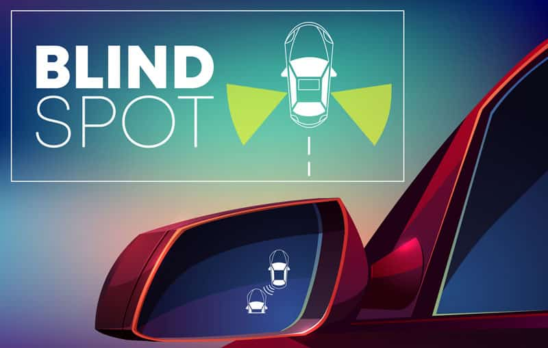 What Are Driving Blind Spots & How To Overcome Them | LTrrent Driving School