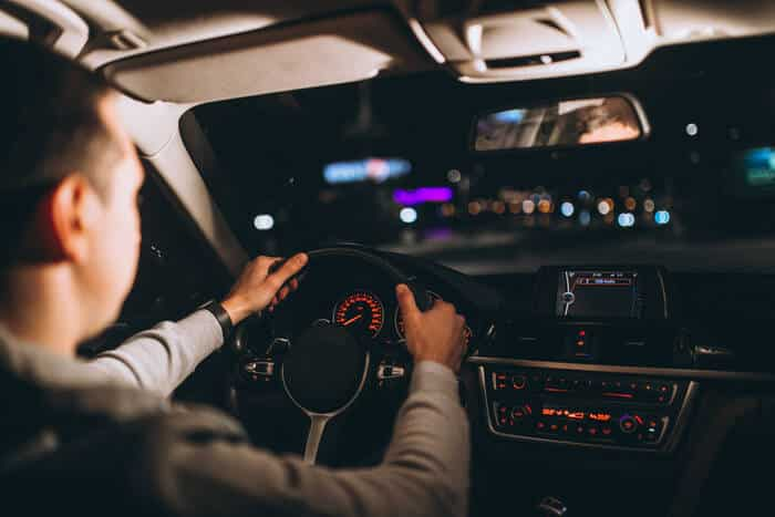 Safe Driving at night LTrent