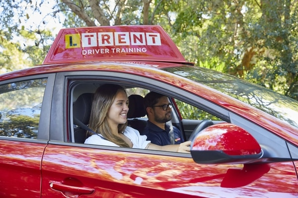 LTrent student and driving instructor